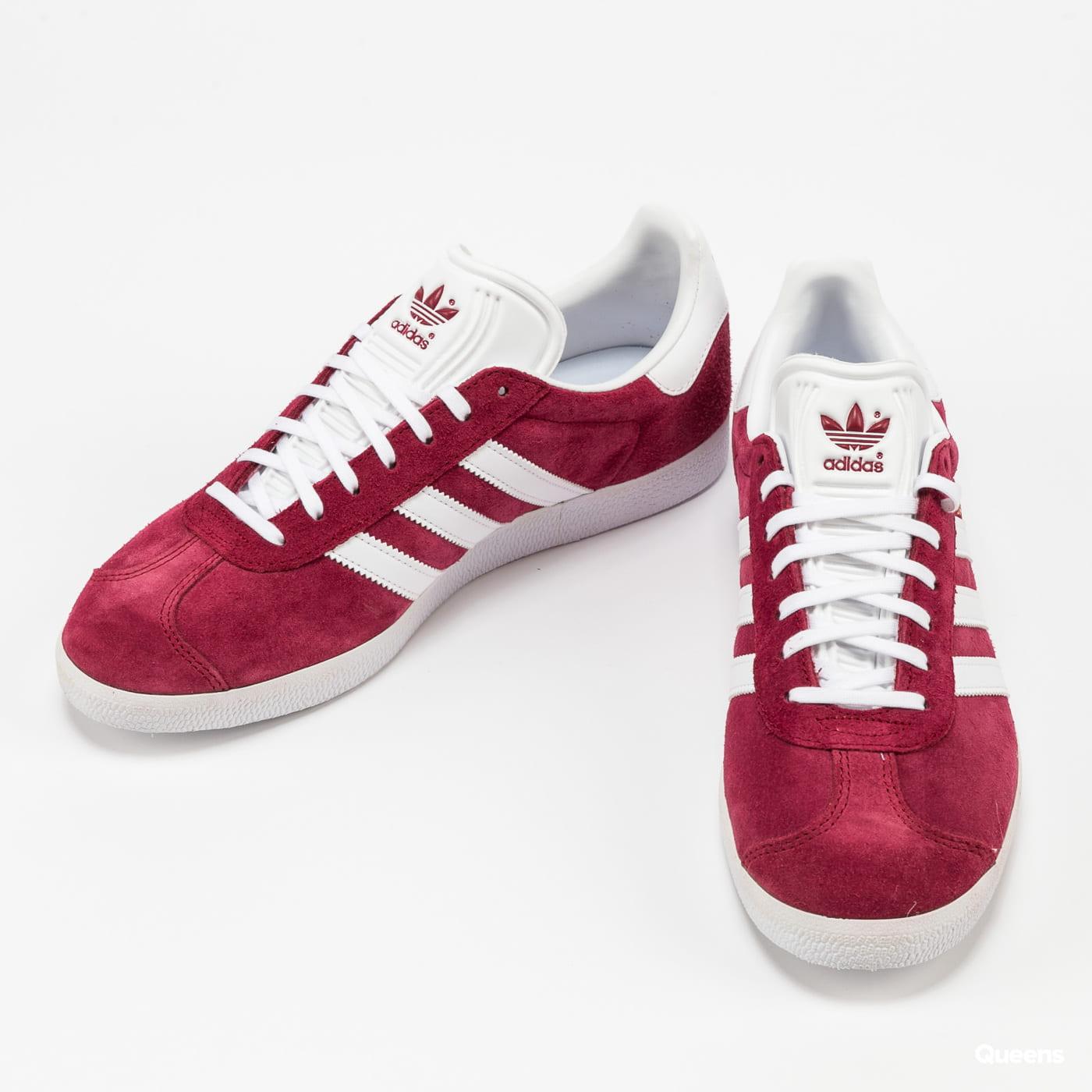 adidas Originals Gazelle cburgu / ftwwht / goldmt