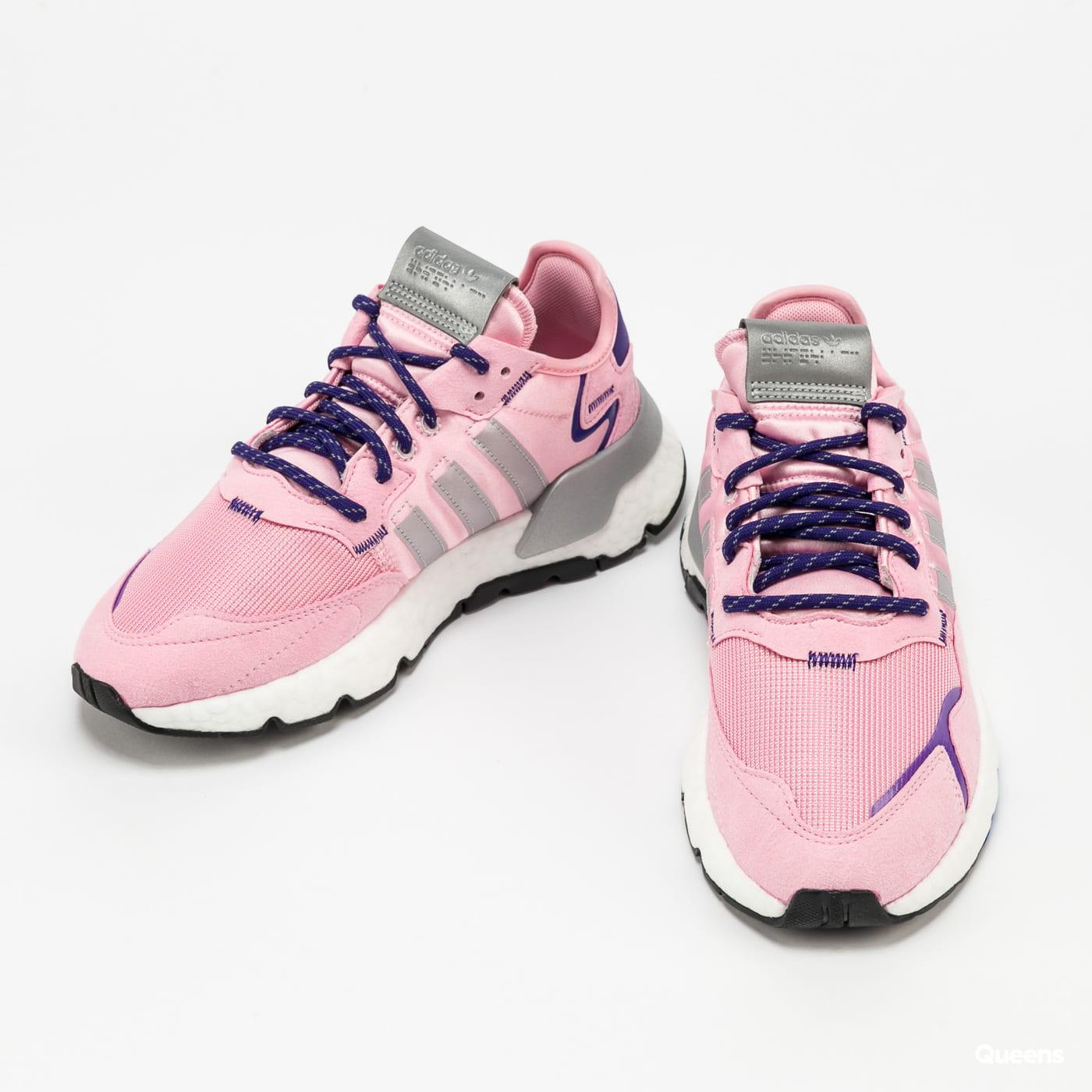 adidas Originals Nite Jogger W trupnk / silvmt / cpurpl