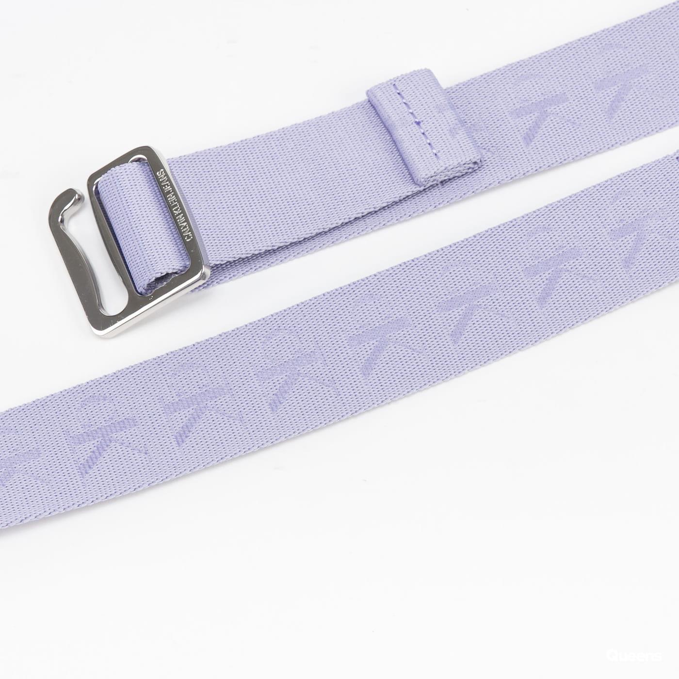 CALVIN KLEIN JEANS Slider Tape Belt 30mm fialový