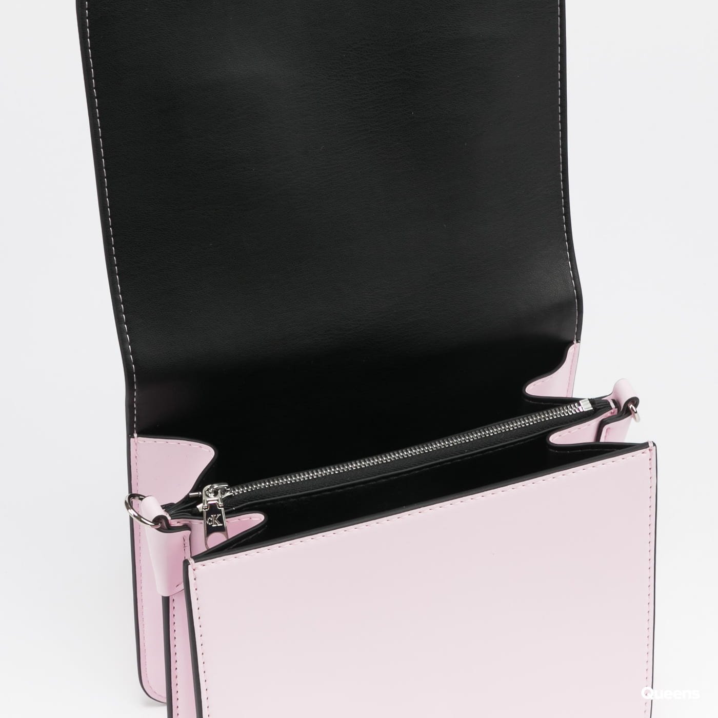 CALVIN KLEIN JEANS W Medium Flap Crossbody pink