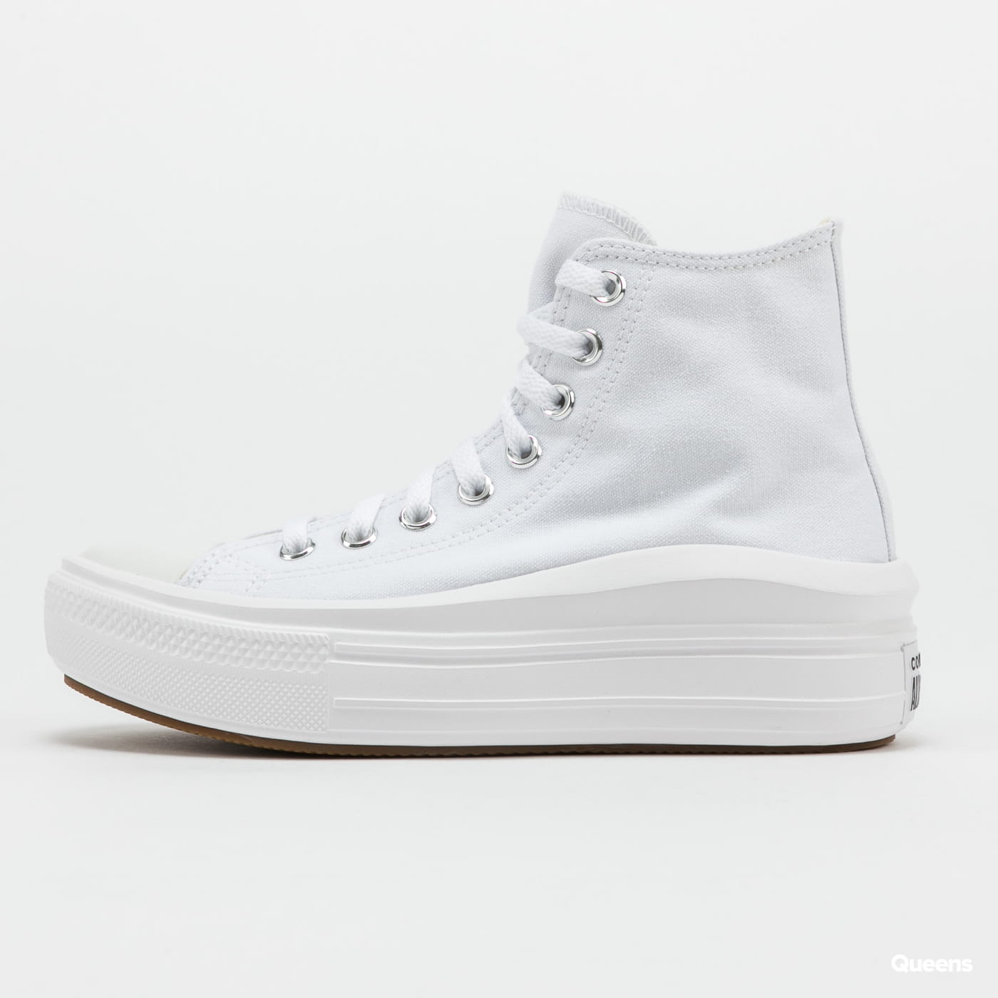 Converse Chuck Taylor All Star Move Hi white / natural ivory / black