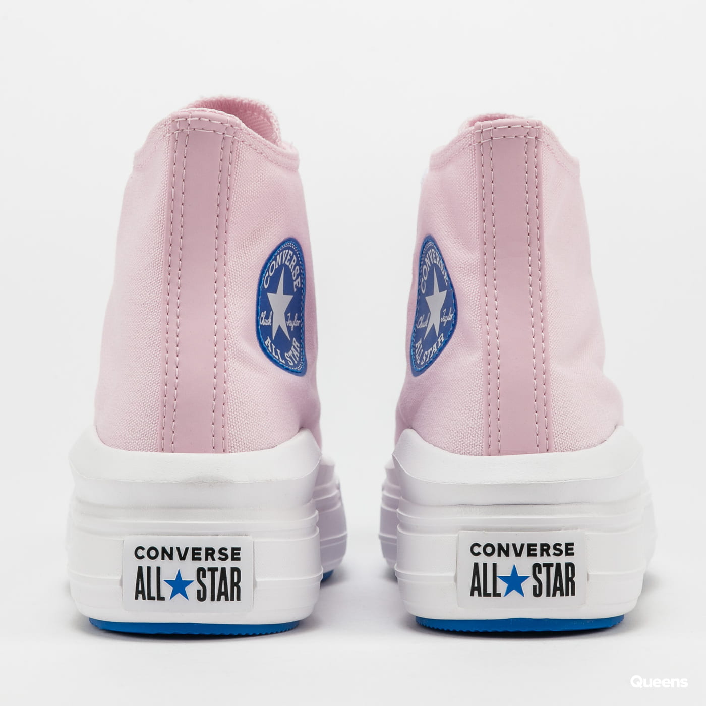 Converse Chuck Taylor All Star Move Hi pink foam / digital blue / white