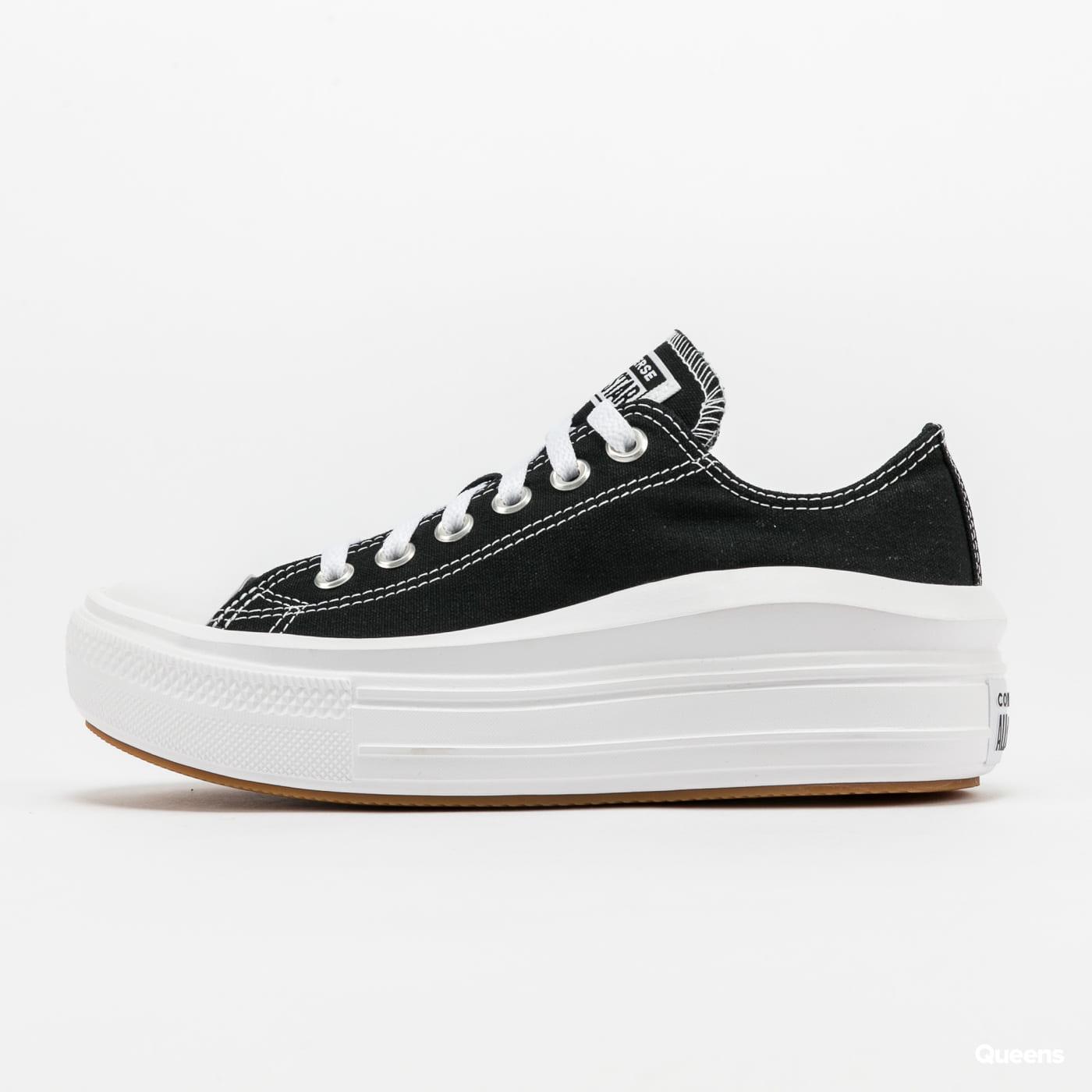 Converse Chuck Taylor All Star Move OX black / white / white