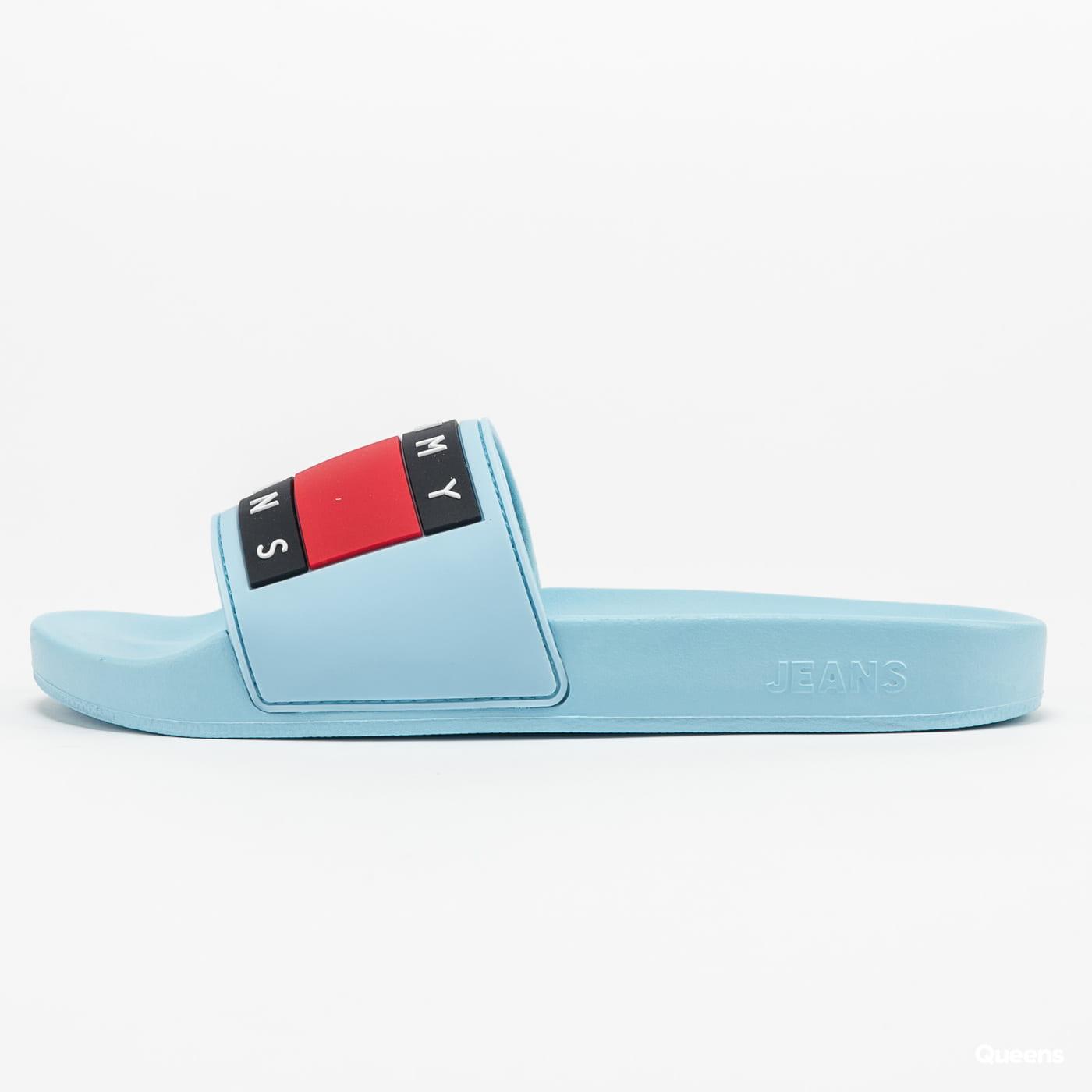 TOMMY JEANS Tommy Jeans Flag Pool Slide sail blue
