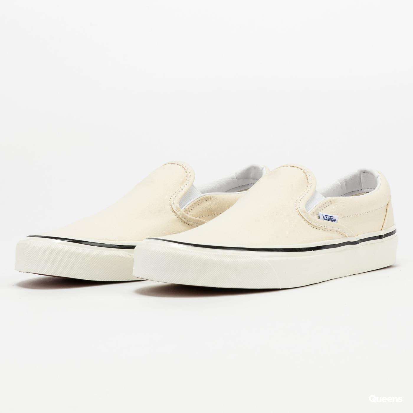 Vans Classic Slip-On 9 (anaheim factory) og white