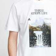 adidas Performance Mountain Tee bílé