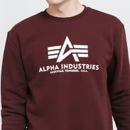 Alpha Industries Basic Sweater vínová