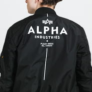 Alpha Industries MA-1 TT Glow In The Dark černá