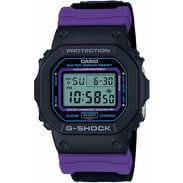 "Casio G-Shock DW 5600THS-1ER ""Throwback 1990s Series"" černé / fialové"
