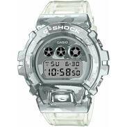 "Casio G-Shock GM 6900SCM-1ER ""Skeleton Camouflage Series"" stříbnrné / průhledné"