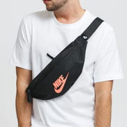 Nike NK Heritage Hip Pack tmavě šedá / neon oranžová