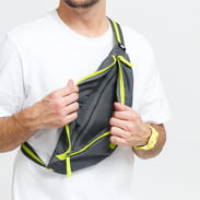 Nike NK Heritage Hip Pack tmavě šedá / limetková