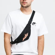 Nike NK Heritage Hip Pack - Small černá / neon oranžová