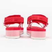 TOMMY JEANS Lurex Webbing Strappy Sandal bubble pink