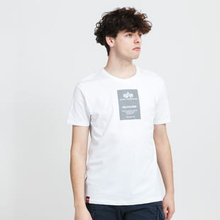 Alpha Industries Reflective Label Tee