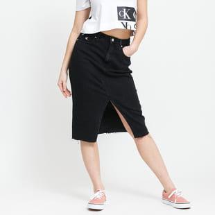 CALVIN KLEIN JEANS W High Rise Midi Skirt