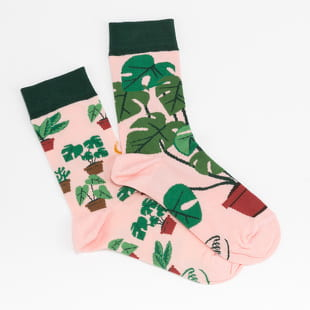 Many Mornings Plant Lover Socks