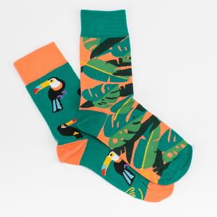 Many Mornings Tropical Heat Socks
