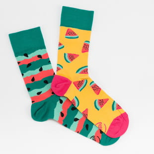 Many Mornings Watermelon Splash Socks