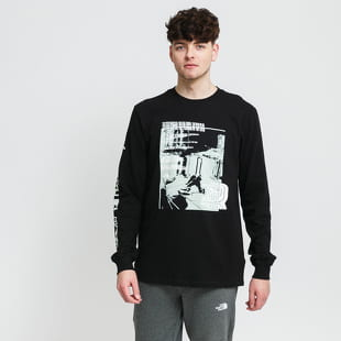 The North Face M Warped Graphic LS Tee