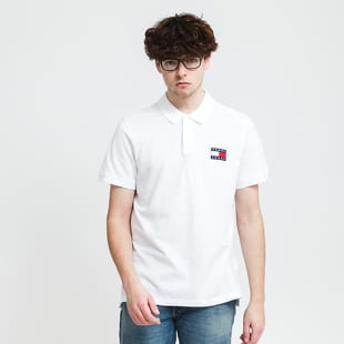 TOMMY JEANS M Badge Lightweight Polo Shirt