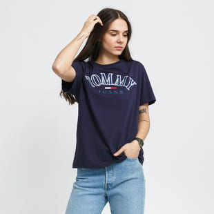 TOMMY JEANS W Relaxed College Tee