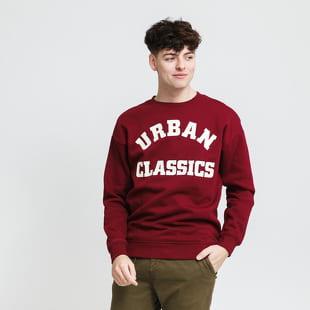 Urban Classics College Print Crew