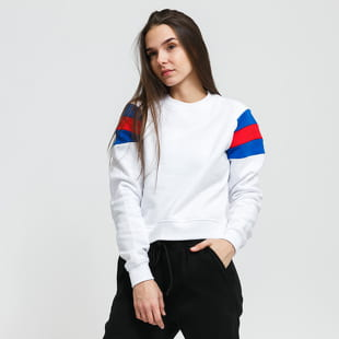 Urban Classics Ladies Sleeve Stripe Crew