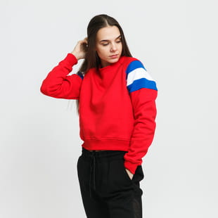 Urban Classics Ladies Sleeve Stripe Crew