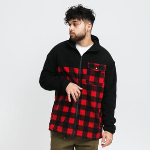 Urban Classics Patterned Polar Fleece Track Jacket