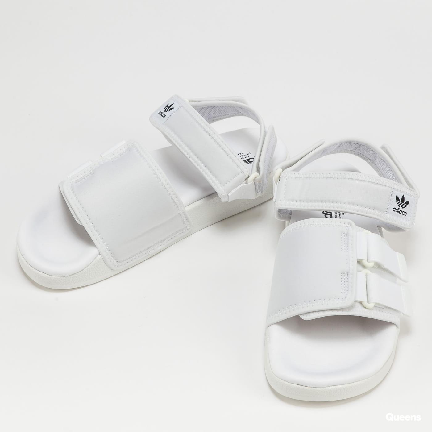 adidas Originals New Adilette Sandal 4.0 ftwwht / ftwwht / cblack