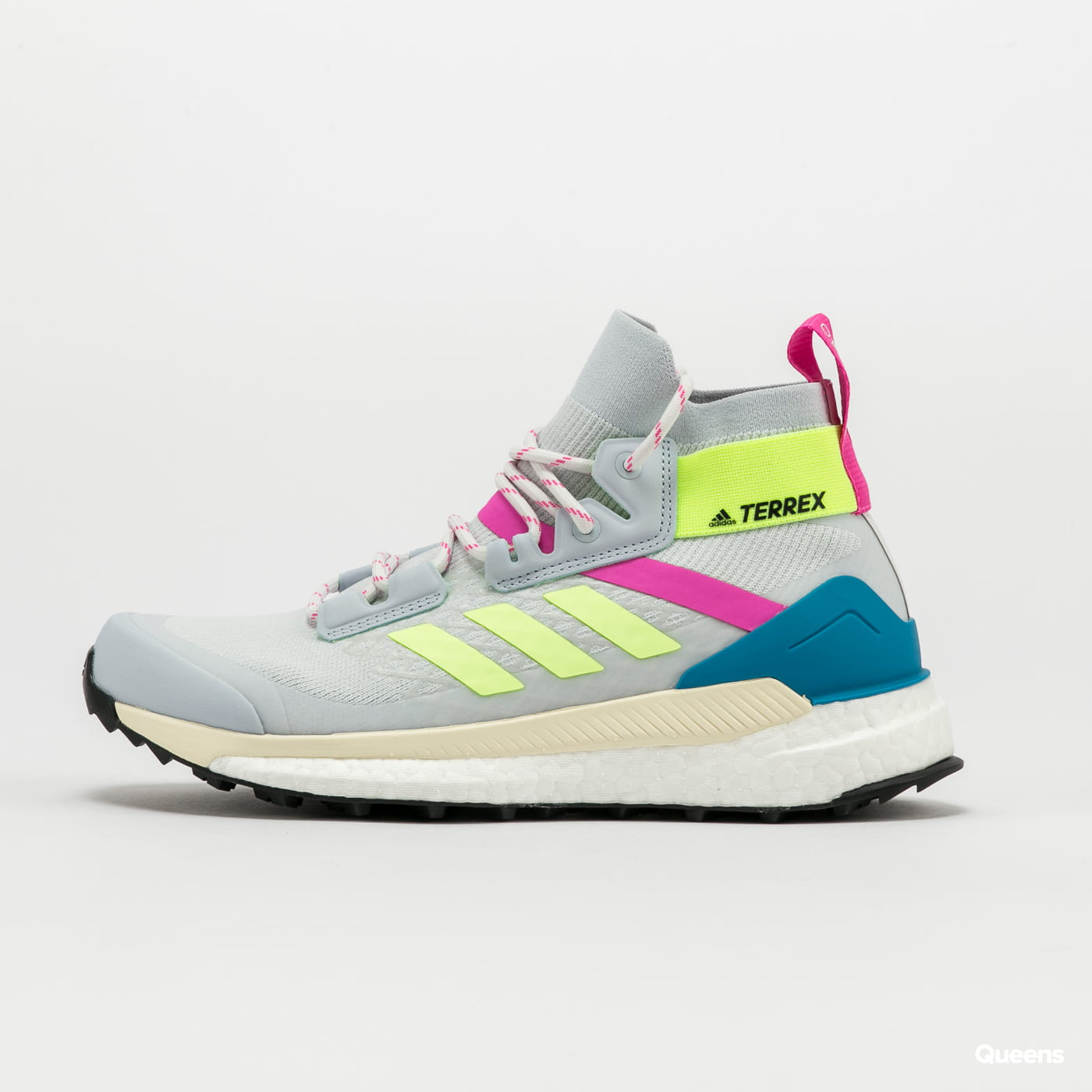 adidas Performance Terrex Free Hiker Primeblu W halo blue / hi-res yellow / screaming pink