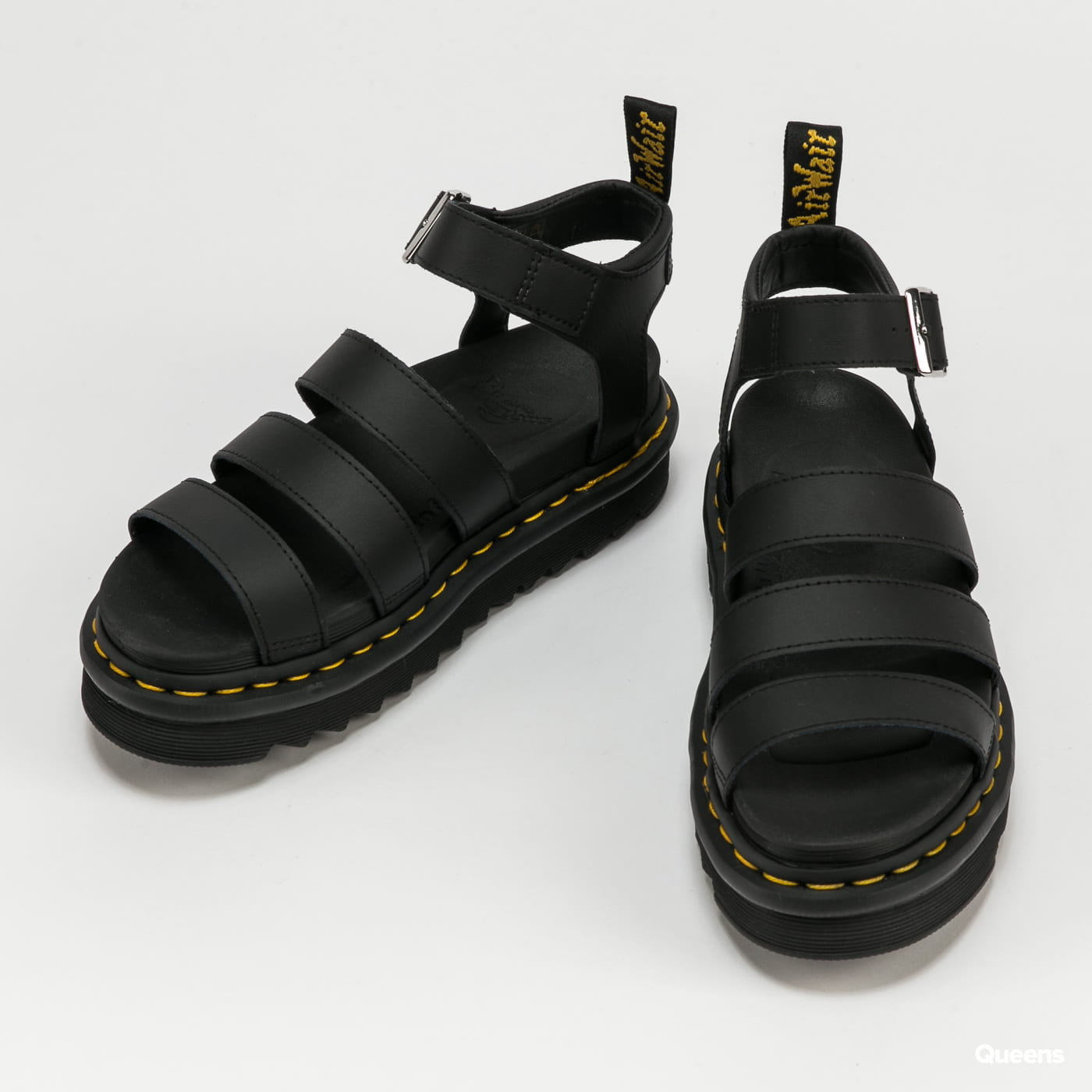 Dr. Martens Blaire black hydro leather