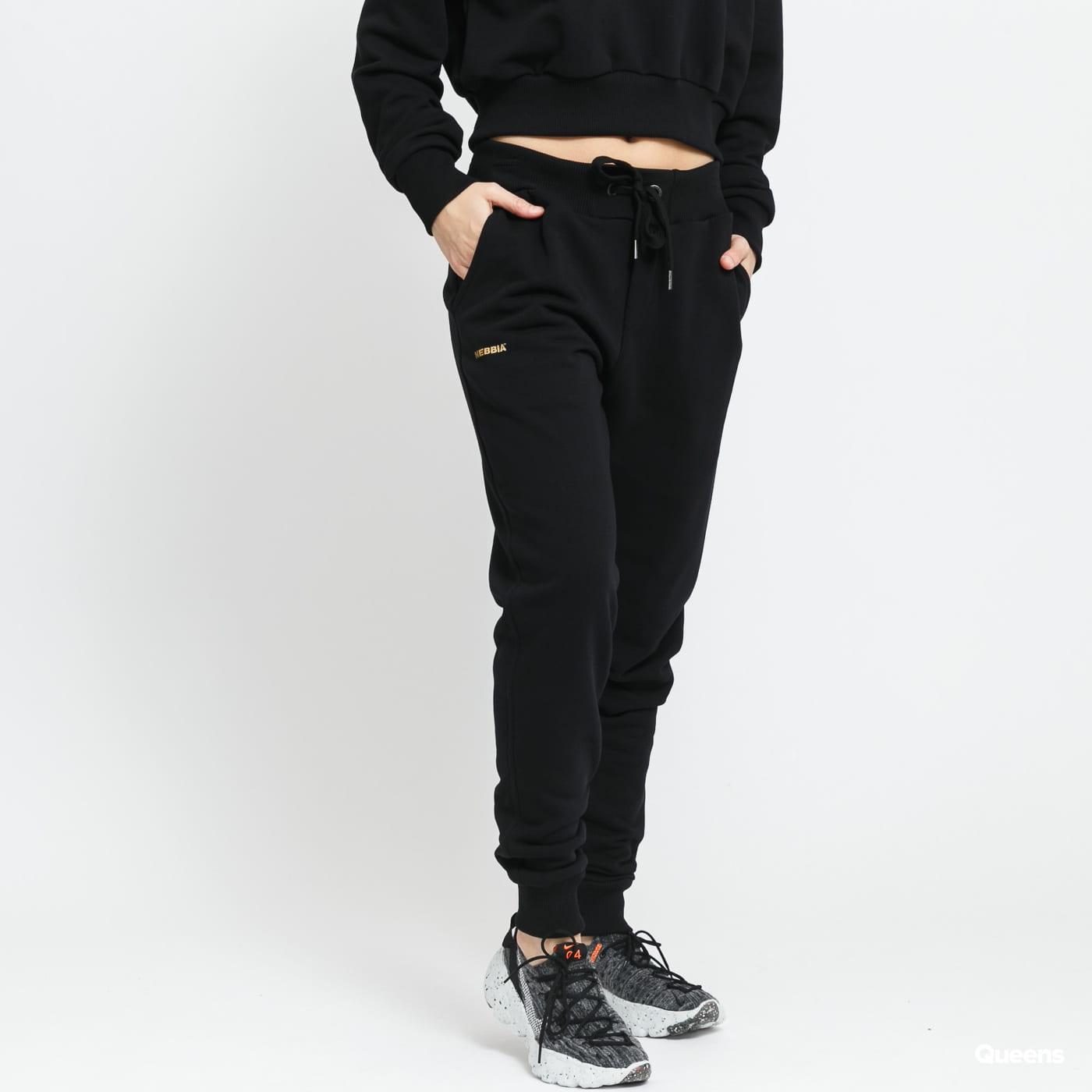 Nebbia Gold Clssic Sweatpants black / golden