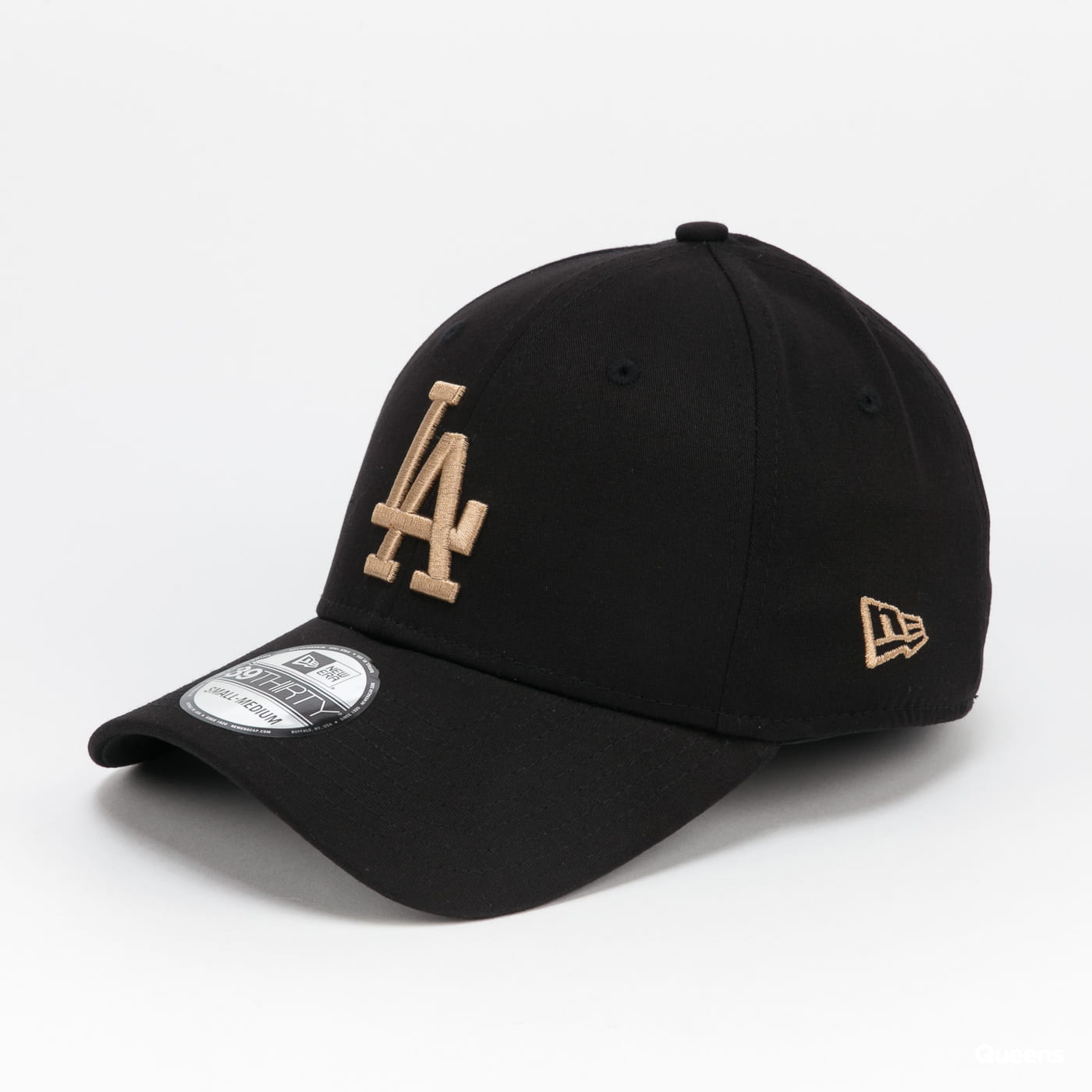 New Era 3930 MLB League Essential LA black / beige
