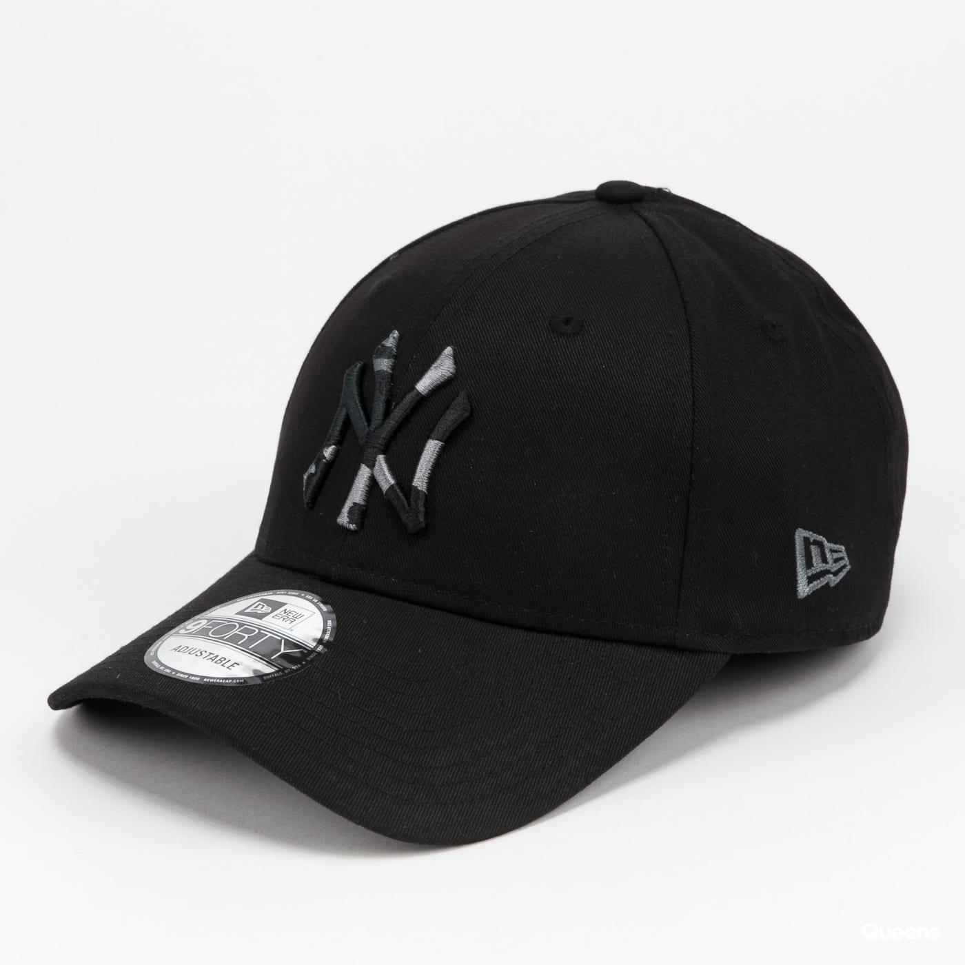New Era 940 MLB Camo Infill NY black / camo gray