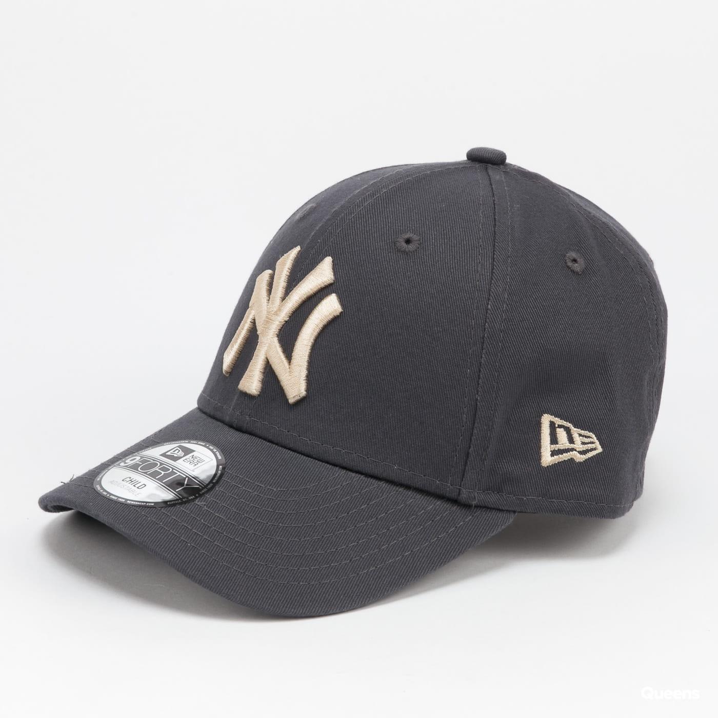 New Era 940K MLB The League Essential NY dark grey / beige