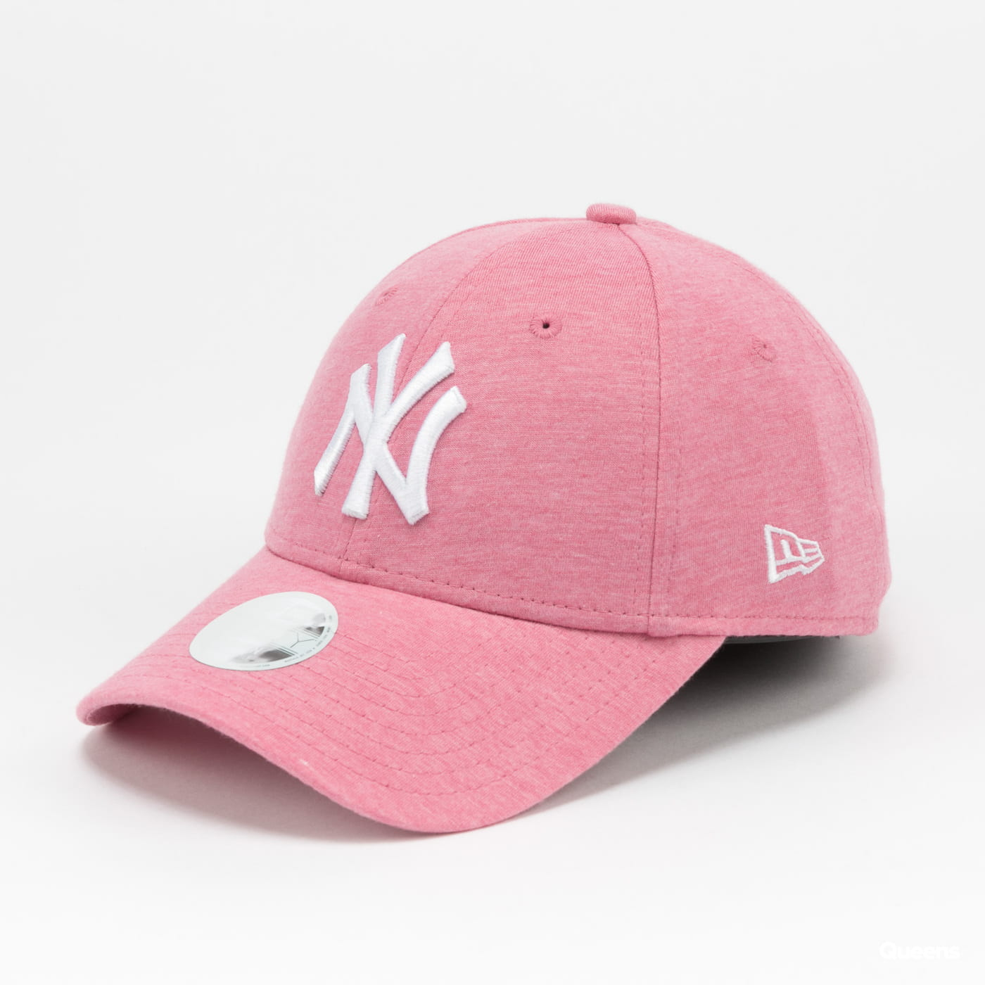 New Era 940W MLB Jersey Essential NY melange pink / white