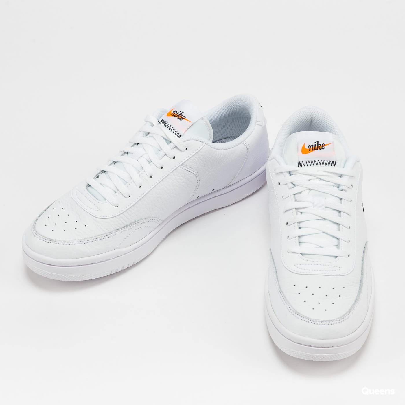 Nike Court Vintage Premium white / black - total orange