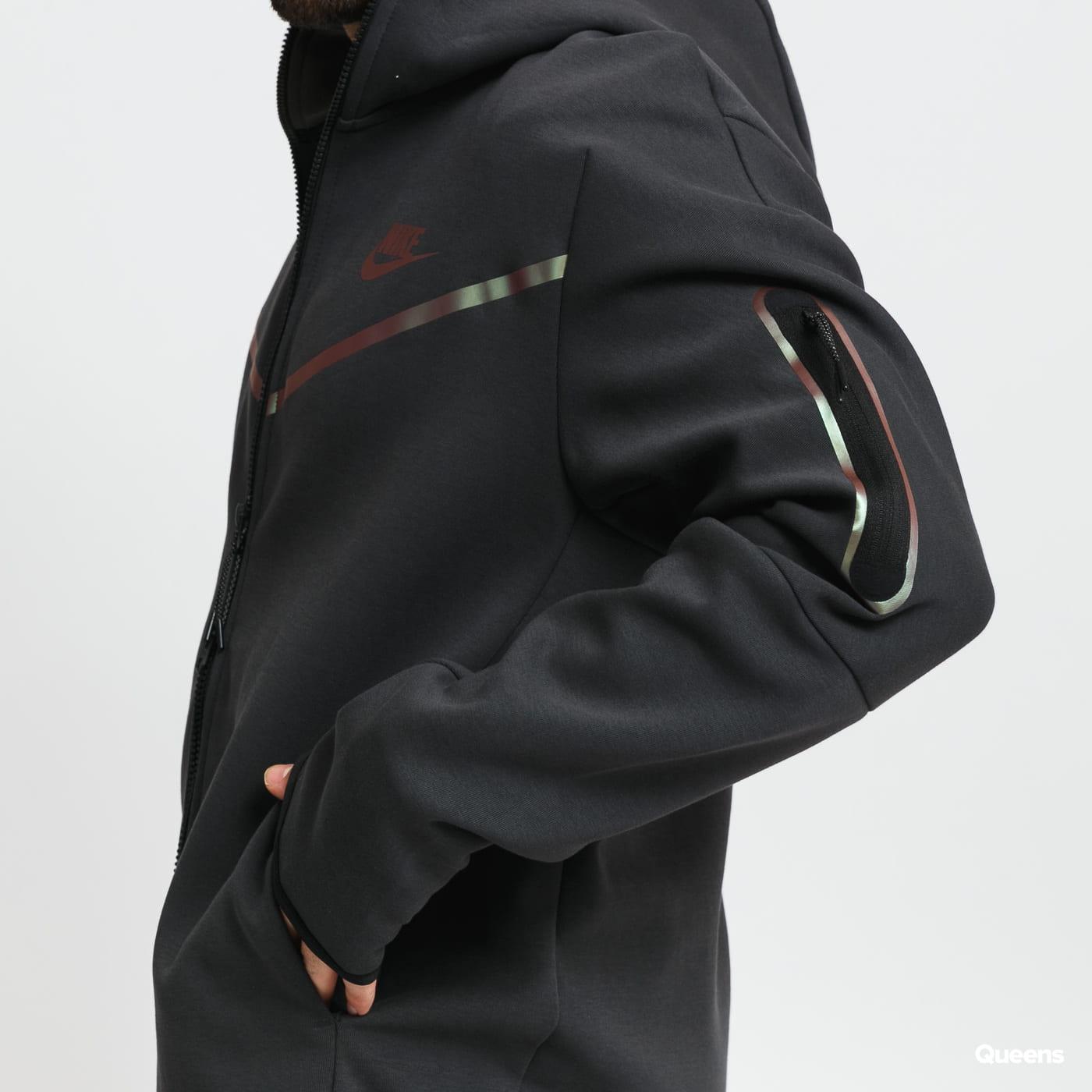 Nike M NSW Tech Fleece FZ Hoodie tmavě šedá