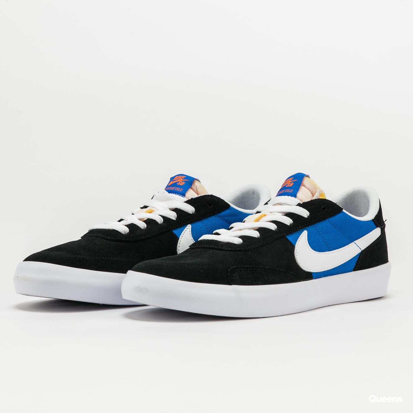 Nike SB Heritage Vulc black / white - signal blue