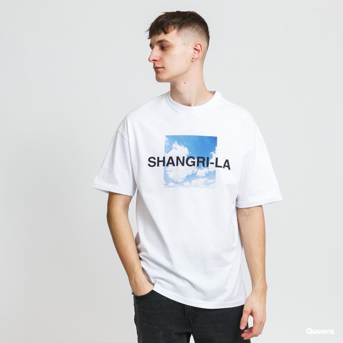 9N1M SENSE. Shangri-la Clouds Tee blue / turquoise