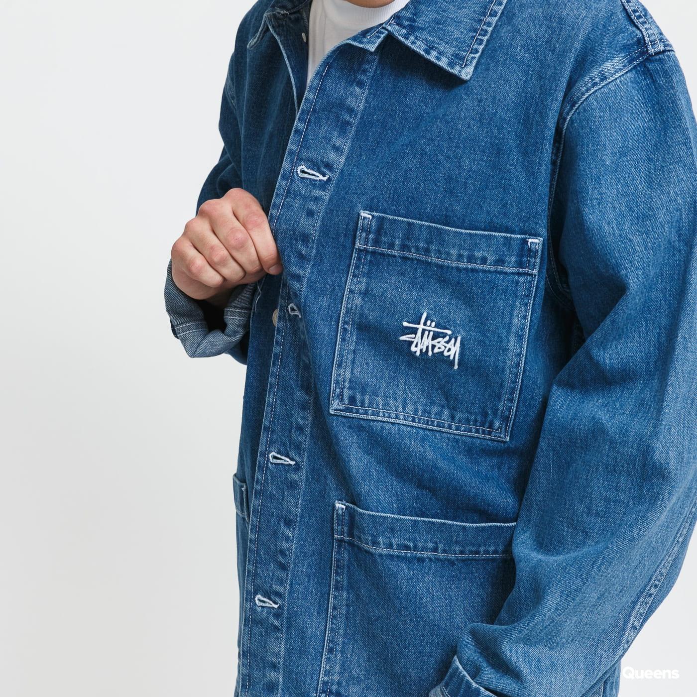 Stüssy Denim Chore Jacket blue