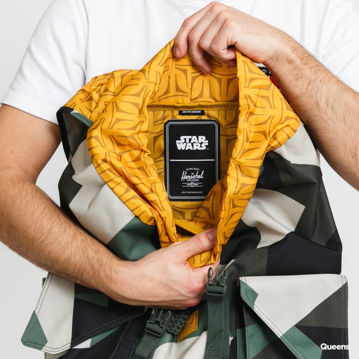 Herschel Supply CO. Star Wars Dawson XL camo zelený