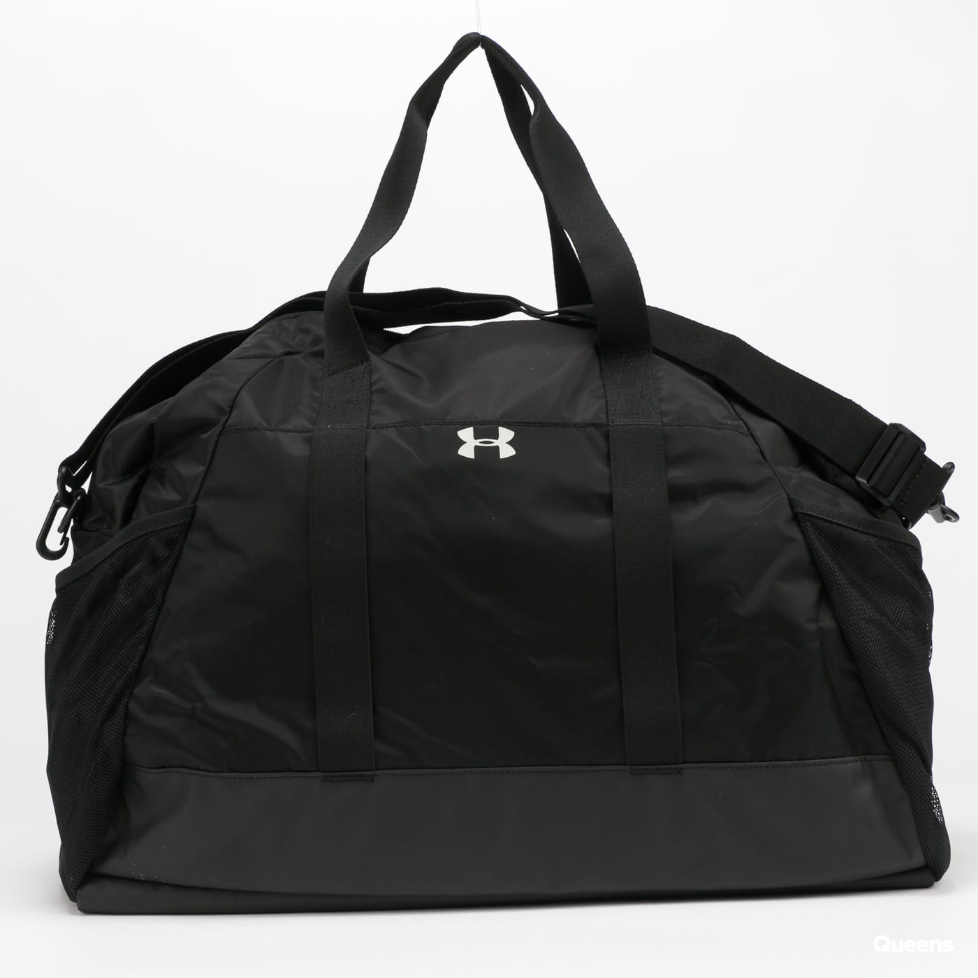 Under Armour Project Rock Gym Bag gray / beige / pink / black