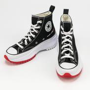 Converse Run Star Hike Hi black / white / university red