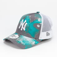 New Era 940 AF Trucker MLB Seasonal NY šedá / zelená / bílá