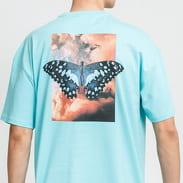 9N1M SENSE. Butterfly Clouds Tee light blue