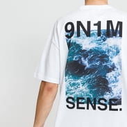 9N1M SENSE. Waves Tee blue / turquoise
