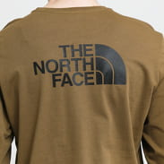 The North Face M L/S Easy Tee khaki